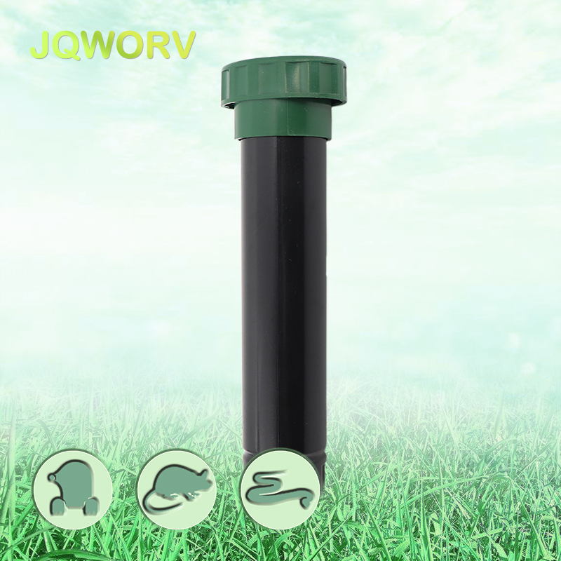 Outdoor Ground Rodent Repeller Battery types rats Moles Snake pest reject villa vegetable garden electronic protection device in Repellents from Home Garden