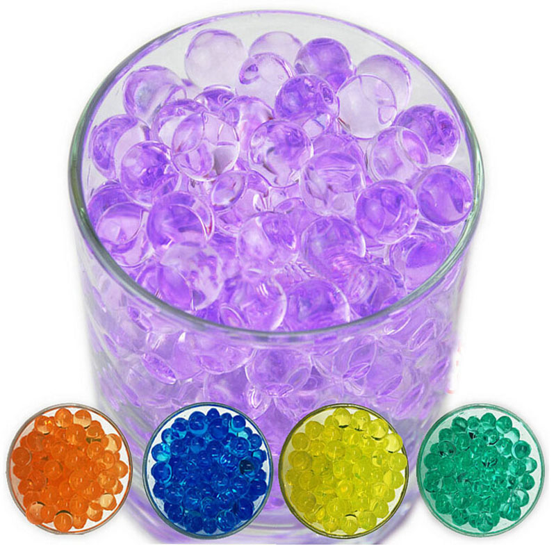 10000pcs/bag Orbeez Paintball A Gun Balls Pistol Toys Gun Bomb Party Toys Shooting Water Arme Gun Crystal Ball Soft Bullets