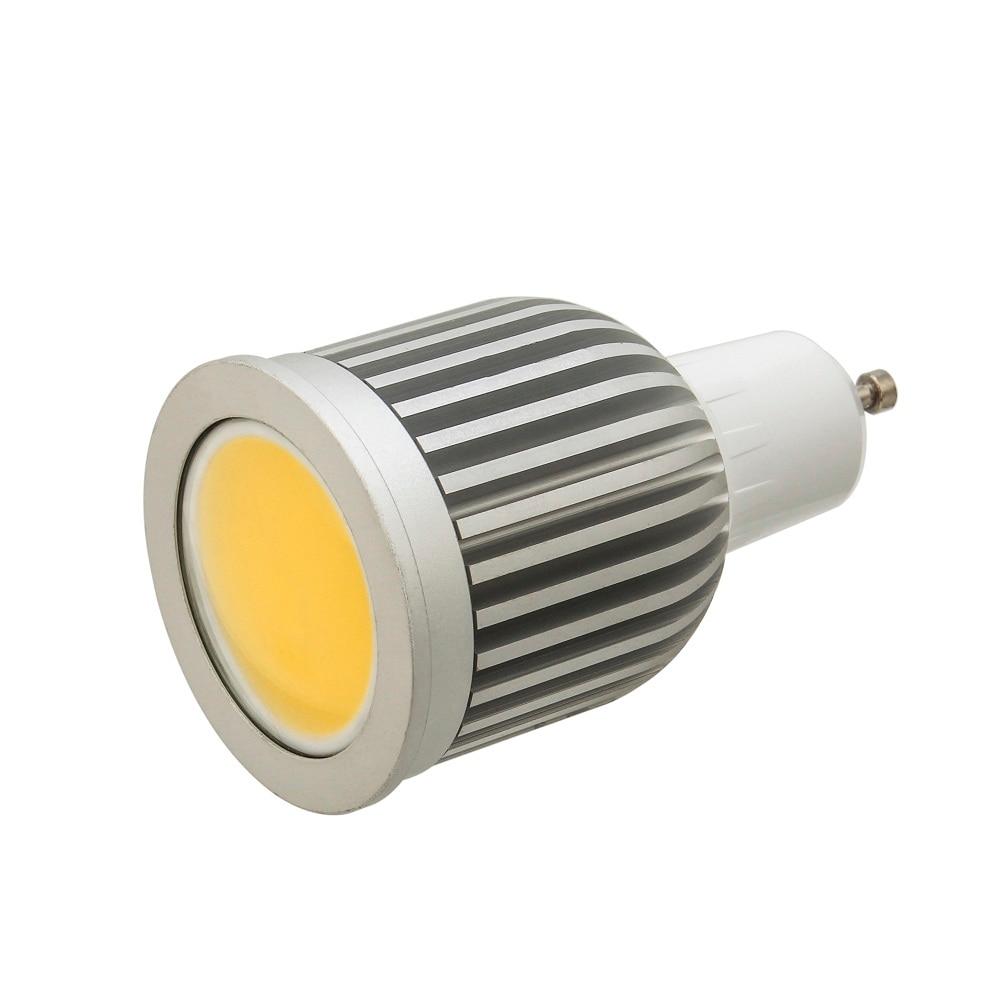 Surper bright 5W GU10 LED Spotlight 220V lamp Bulbs Heat-resistant Aluminum Body LEDs Spot light COB Lampada LED