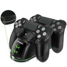 PS4 двойной контроллер зарядное устройство usb зарядная док-станция с дисплеем состояния для Playstation 4 PS4/PS4 Slim/PS4 Pro контроллер