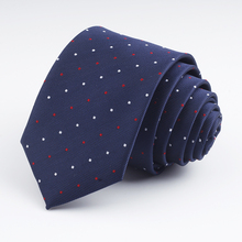 Fashion Men Neck Ties Dot Striped Plaid Necktie Slim Tie