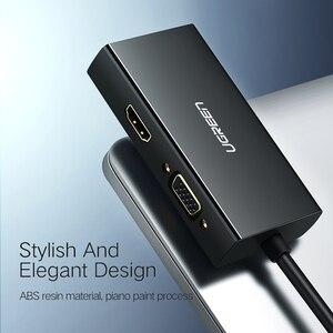 Image 5 - منفذ عرض صغير من Ugreen Thunderbolt إلى HDMI/VGA/DVI كابل محول محول لجهاز Apple MacBook Air Pro 4K منفذ عرض صغير إلى VGA