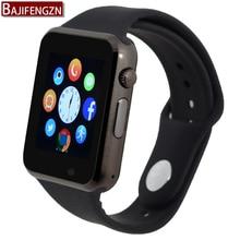 Bluetooth smart watch para el teléfono android soporte sim/tf soporte de la cámara tarjeta sim reloj inteligente reloj deportivo pk dz09 q18