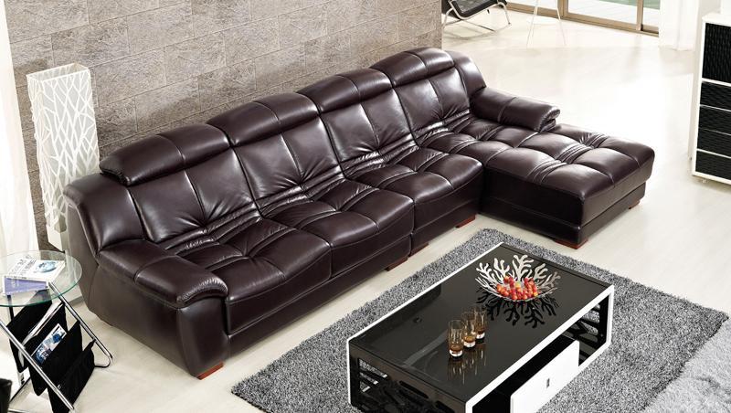 envo gratis diseo de mobiliario moderno de grano superior sof de cuero genuino la