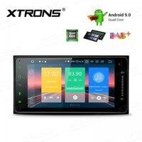 XTRONS 9 Android 9.0 Car Multimedia Stereo Player For Toyota RAV4 Corolla Prado Plug Play Design Radio GPS WIFI TPMS OBD NO DVD