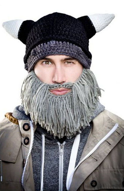 Vikings Beanies Beard Hats