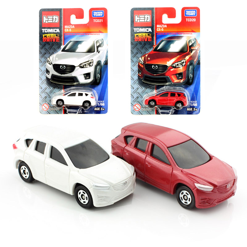 2pcsset 2017 tomy tomica kids mazda cx 5 diecast models race cars collectile