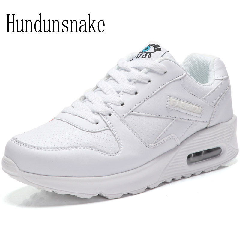 Hundunsnake White Sneakers Women 2017 Women