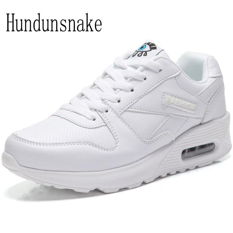 Hundunsnake White Sneakers Women 2018 Women