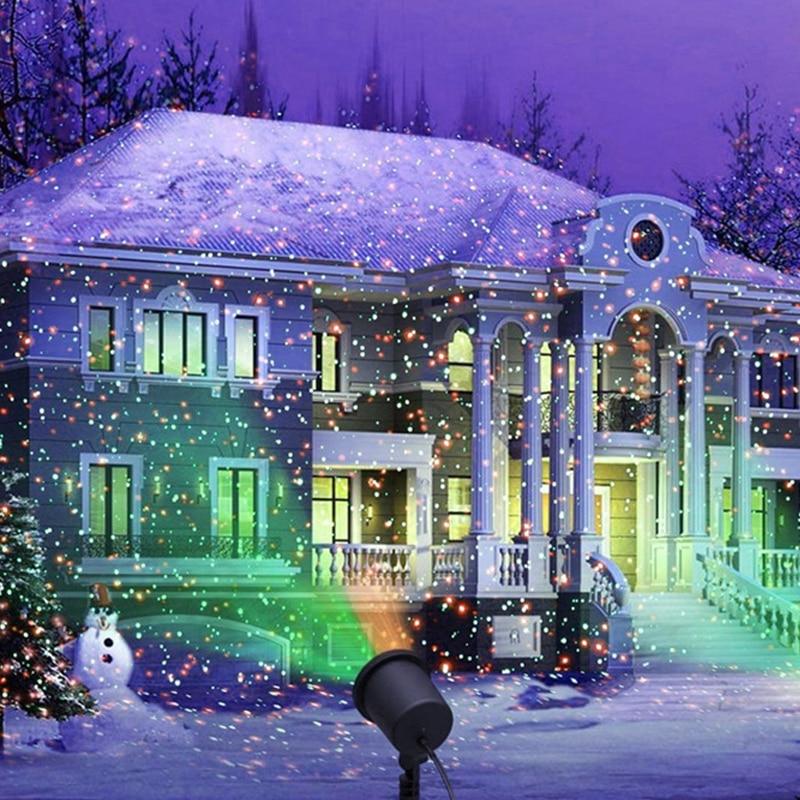 Outdoor Laser Projektor Licht Wasserdicht Garten Pfad Teich Rasen Sky Laser Dusche Lampe Weihnachten Weihnachten Urlaub Scheinwerfer