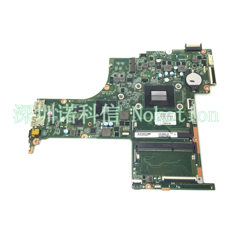 NOKOTIO 809408-001 814752-001 For HP Pavilion 17-G Laptop Motherboard DA0X21MB6D0 A10-8700P CPU DDR3 M360 2GB Video Card laptop keyboard for hp pavilion 17 e159nf 17 e114eo 17 e160nf 17 e101sc 17 e106er 17 e100sf black white red blue purple