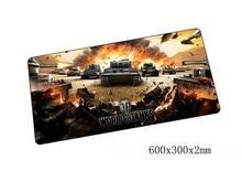 World of Tanks коврик для мыши 60×30 см Коврик для мыши коврик Notbook коврик для компьютерной мышки дешевый игровой padmouse геймер для ноутбука коврики для мыши