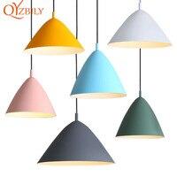Pendant lights modern nordic design pendant lamp hanging loft lamp home deco light fixture rope dining room kitchen bar hotel