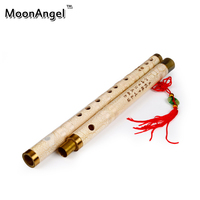 Traditional Handmade Bamboo Wood Chinese Dizi Flute Professional Music Musical Instruments Membrane Chinese Knot Bag