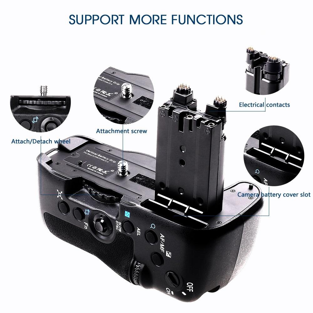 Sony A77 A77ii A77V A99II Kameralar əvəzedici VG-C77AM üçün Yeni - Kamera və foto - Fotoqrafiya 5