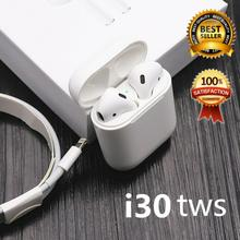 I30 tws Pop-up 1::1 Bluetooth 5.0 wireless headset 6D stereo subwoofer Bluetooth headset i30 tws PK W1 chip i10 tws i12 tws