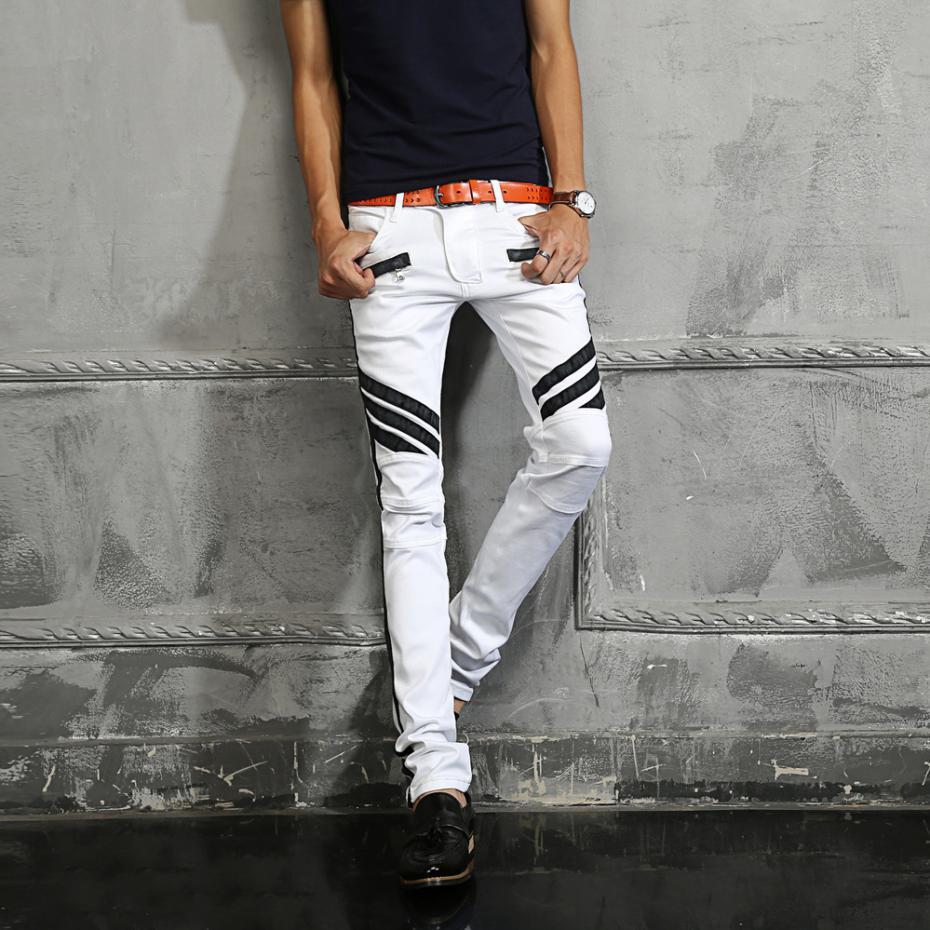 Aliexpress.com : Buy 2016 New Fashion Mens Light Wash Denim ...