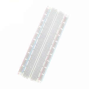 Image 3 - MB102 プロトタイプブレッドボード Diy キット MB 102 Protoboard PCB ボードブレッドボード 16.5 × 5.5 センチメートル 830 穴圧着ユニバーサルプロトタイプ