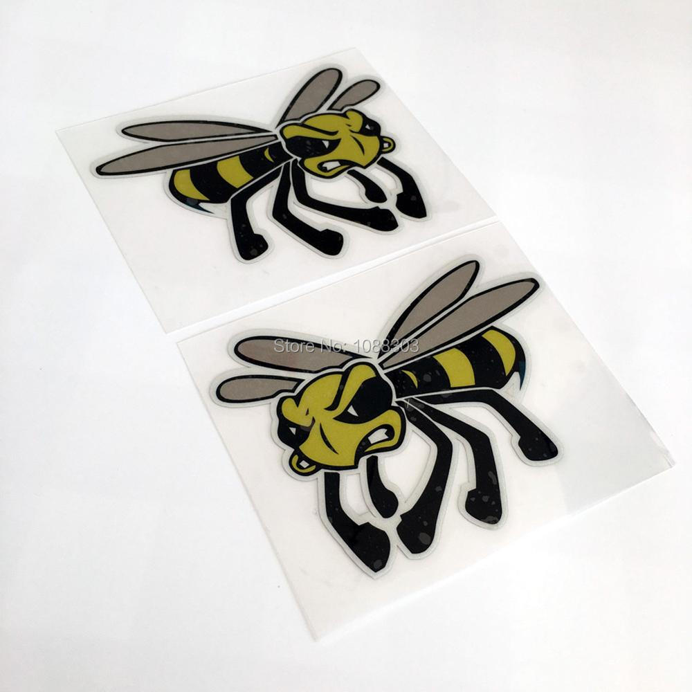Bumble bee embroidery designs car pictures - Pack Of 2pcs Motorcycle Racing Car Sticker Decals Bee For Vespa Club In Decals Stickers From Automobiles Motorcycles On Aliexpress Com Alibaba Group
