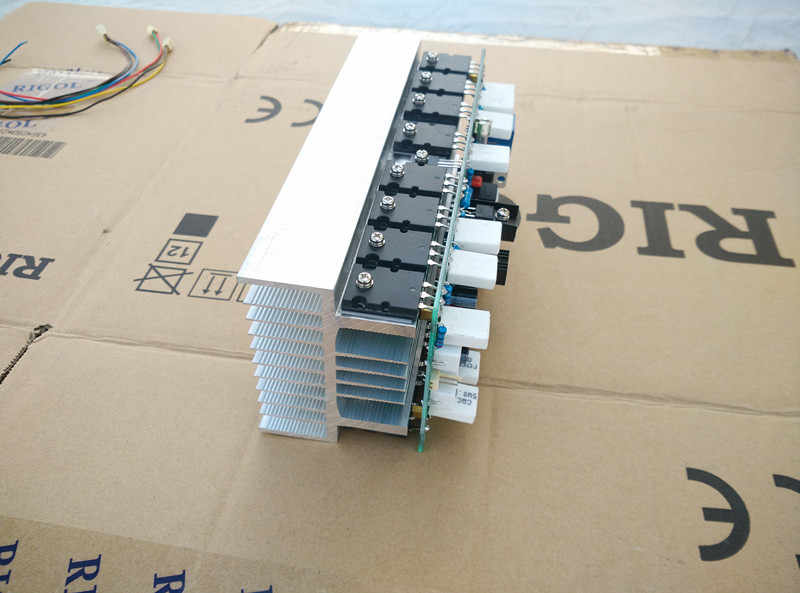 HIFI высокой мощности 1000 Вт домашний сценический Профессиональный 2CA1837/2SC4793 толкающий TTC5200/TTA1943 плата одноканального усилителя в радиаторе