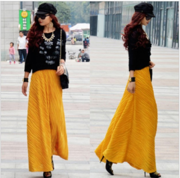 Aliexpress.com : Buy 2016 Autumn Winter women's long skirt with ...