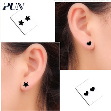 PUN non pierced fake hole climber without earrings accesories bijouterie