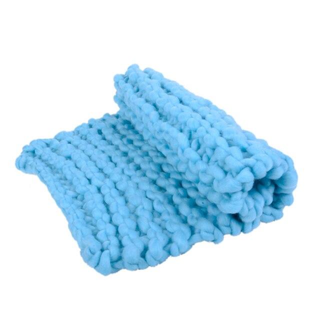 Tienda Online 1 unids 40x55 cm bebé de punto lana línea gruesa anti ...