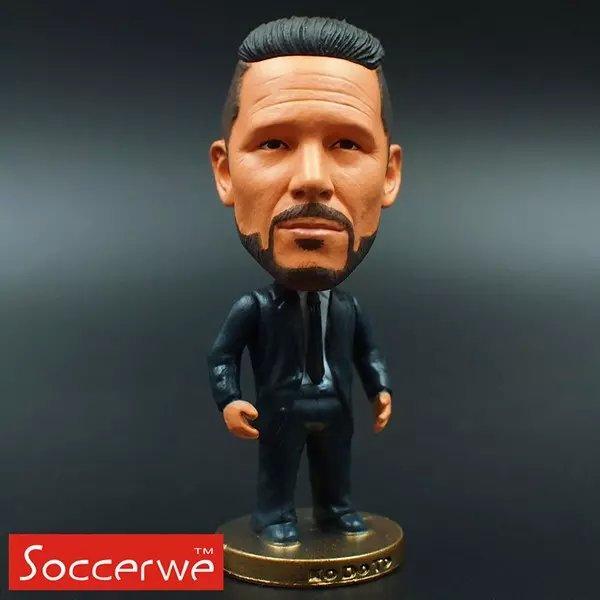 Football star Soccer Coach SIMEONE (MA) 2.5 Action Dolls Figurine