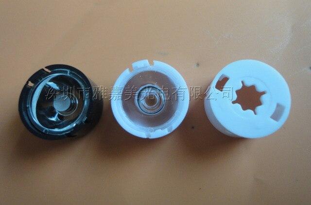 CREE объектив (с подставкой) Диаметр 13.1 мм гладкой поверхностью, 10 15 20 45 60 70 90 градусов объектив, XPG/XPE LED объектив (20 шт./лот)