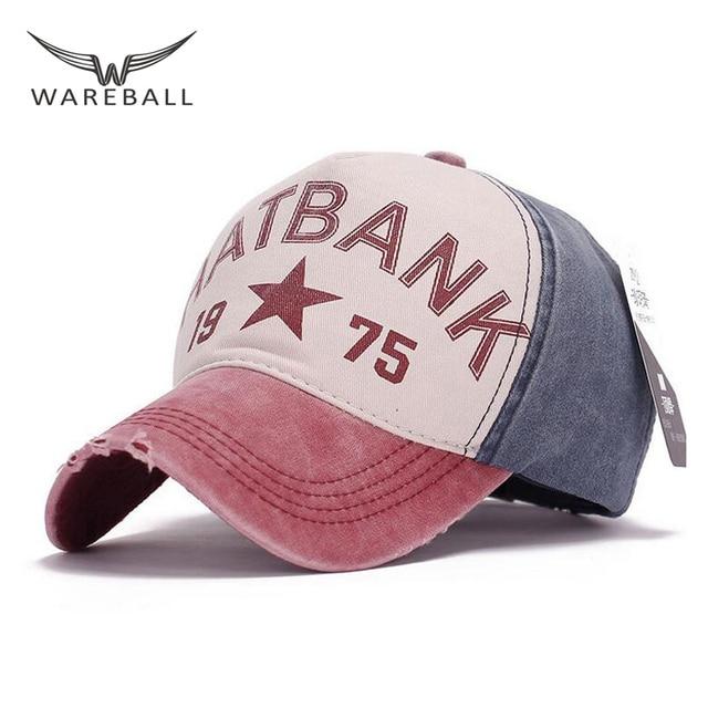 7d34c55e929b3 Wareball nueva primavera de la marca de algodón fuera casquillo de los  deportes gorra de béisbol