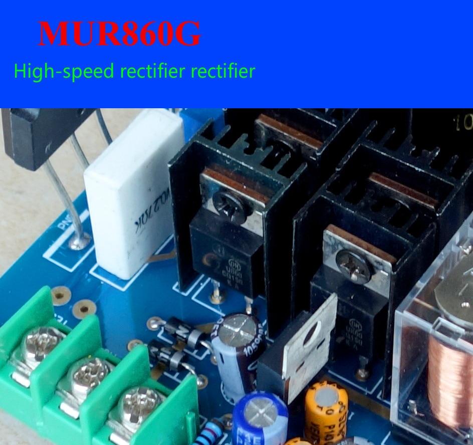 Ghxamp 20W Pure Class A Op amp Power Amplifier Audio Board 2SC5200 2SA1943  NE5532 Amplifier 60W 4OHM NEW DIY Kits