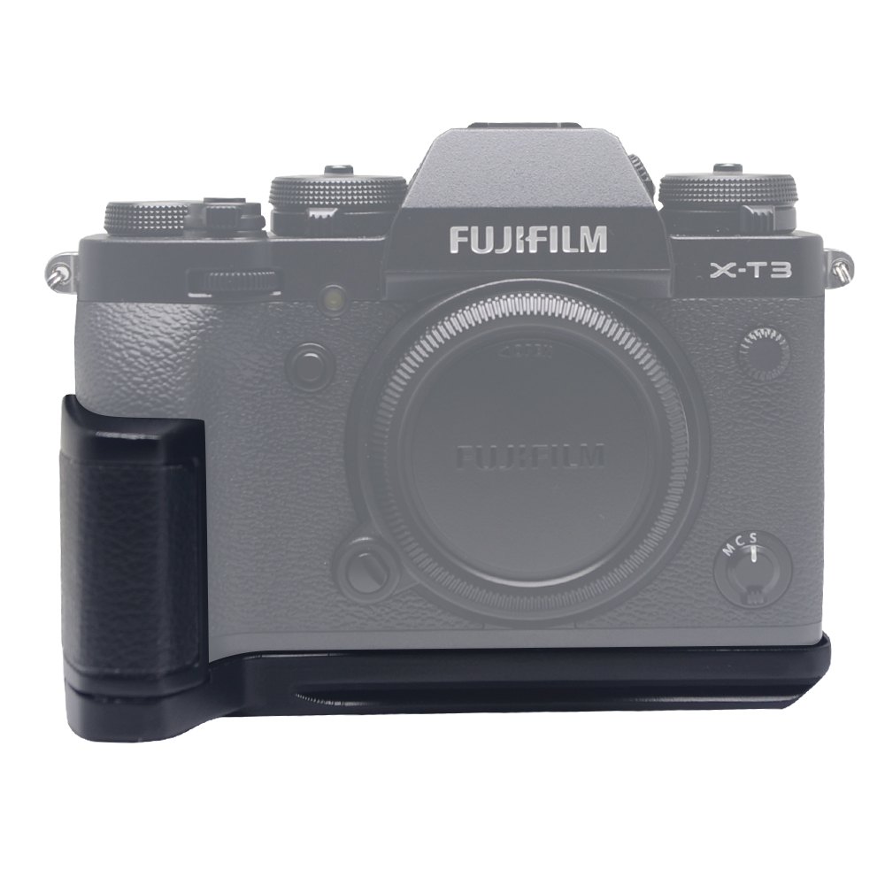 Mcoplus X-T3 poignée en métal à dégagement rapide L plaque/L support pour Fuji Fujifilm X-T3 XT3 XT-3 prise de vue verticale