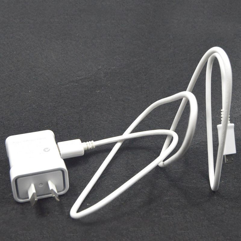 5 V 2A micro USB Sync Data kabel ponsel + Au plug Dinding Charger - Aksesori dan suku cadang ponsel - Foto 3