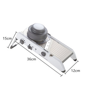 Image 5 - NEW 18 Type of Use Mandoline Vegetable Slicer Stainless Steel Multifunctional Fruit Onion Potato Cutter Chopper Kitchen Gadgets