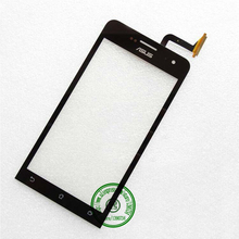 Front Glass Panel Touch Screen Digitizer For Asus Zenfone 5 A500 A501CG Glass Lens Repair Parts Replacement Black Free shipping