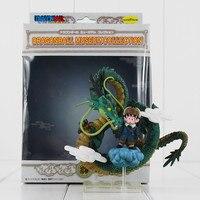 10cm Dragonball Son Goku Dragon Ball Shenron Shenlong Super Saiyan Son Goku PVC Action Figure Collectible