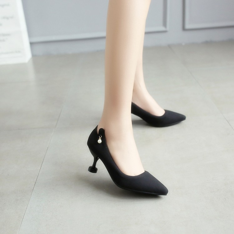 Big Size 11 12 13 14 15 16       ladies high heels women shoes woman pumps      Pointed shallow-mouthed single shoe   Cat heel Big Size 11 12 13 14 15 16       ladies high heels women shoes woman pumps      Pointed shallow-mouthed single shoe   Cat heel