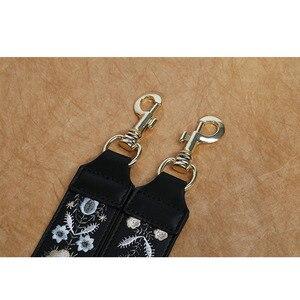 Image 5 - Женская сумка на ремне из натуральной кожи с вышивкой, аксессуары для сумок, красивая женская сумка на ремне, высокое качество, ремни для сумок
