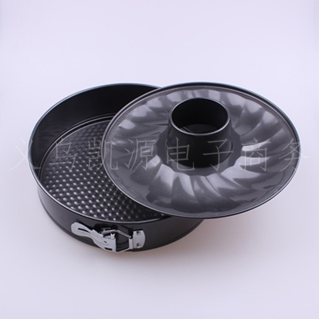 26cm Cake Mold Chimney Buckle Cake Mould Core Pulling Mould Nonstick Pans Diy Baking Mold Pan