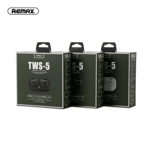 Image 5 - headphone Remax TWS 5 Wireless Bluetooth Earphones Twins Earphone With Charging box headsets Bluetooth 5.0 Smart Touch Stereo