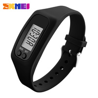 Fashion Women Watches Candy Silicone Strap Pedometer Calorie LED Digital Sport Wrist Watch For Men Women