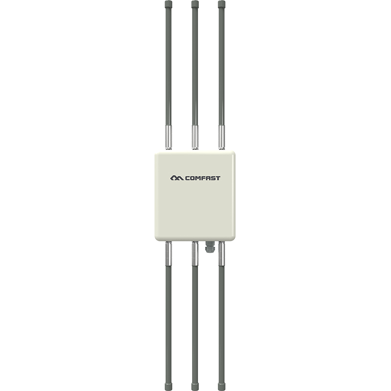 1750M High Power Outdoor Weatherproof Wireless AP Wifi Router with 6 8dBi antennas 5Ghz dual band