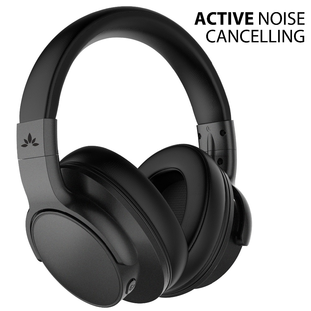 Avantree Bluetooth 4.1 Active Noise Cancelling Headphones with Mic, Wireless/Wired Foldable Stereo ANC Headphones наушники avantree adhf 004