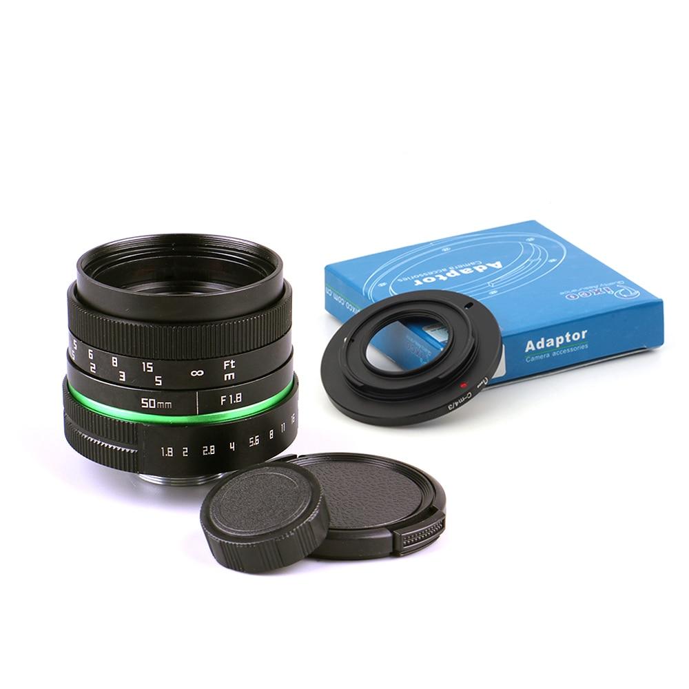 50mm F1.8 Obiectiv Televiziune APS-C pentru televizor Captus Camera + - Camera și fotografia - Fotografie 3