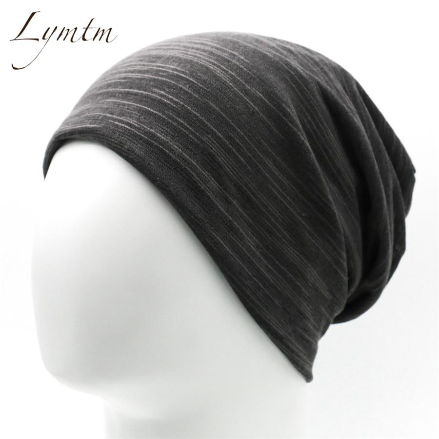 [Lymtm] Unisex Turban   Beanie   Stocking Hats For Women Men Baggy Cap Hip Hop Hat Female   Skullies     Beanies   Scarf Mask Bonnet