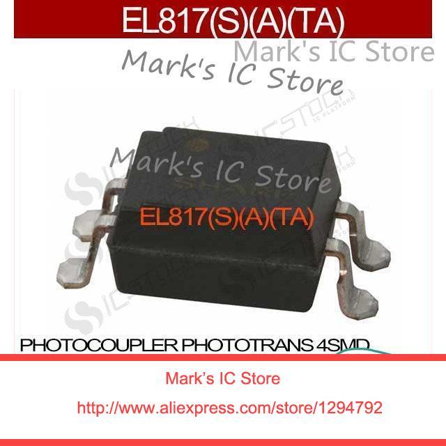 EL817, S, A, TA PHOTOCOUPLER PHOTOTRANS 4SMD EL817, A, TA 817 817 (L817 EL817 817, A, TA
