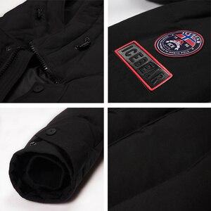 Image 5 - ICEbear 2019 Hot sprzedaż zima ciepłe  mężczyzn ciepłe  kurtka parki wysokiej jakości Parka moda na co dzień płaszcz MWD18856D
