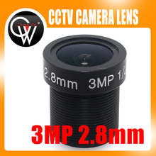 2.8mm HD 3.0MP 1/2.5″ M12 CCTV Camera Lens IR HD Security Camera Lens Fixed Iris fit hd ip camera