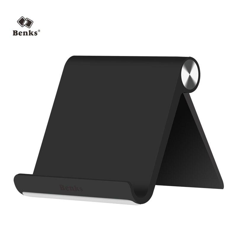 Universal Flexible Phone Desk Benks Brand Mobile Cellphone Holder Tablet Portable V-shape Stan for iPad iPhone Samsung Xiaomi