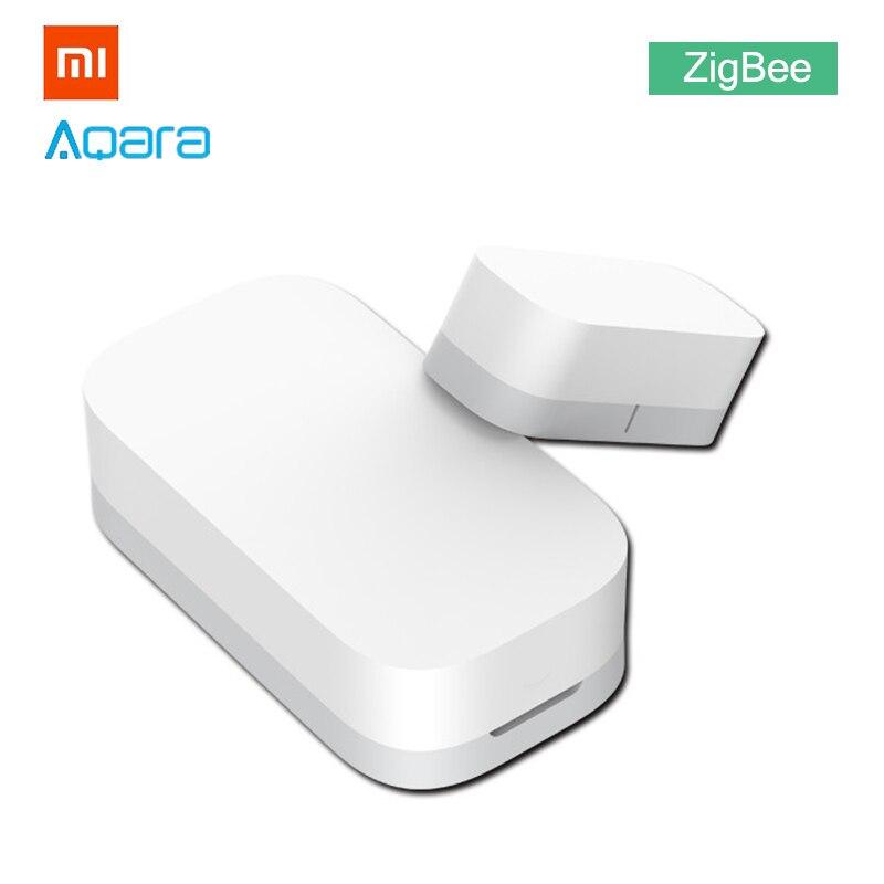 Xiaomi Porta Janela do Sensor ZigBee Aqara Versão Ligação para MiHome APP  MIJIA Conexão Sem Fio de Casa Inteligente Alarme de Entrada de Bell